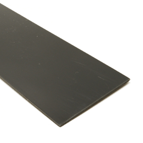 Black plastic strip