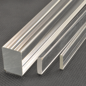 Acrylic rectangular rods square rectangular tubes for Square narrow shape acrylic