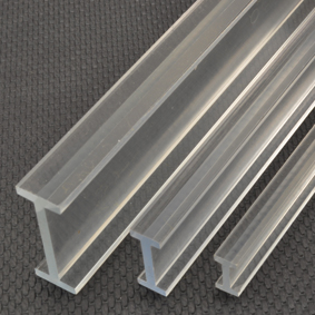 I Beams I Beams Amp H Columns Acrylic Plastic Shapes
