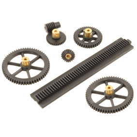 Brassed Hubbed Gears