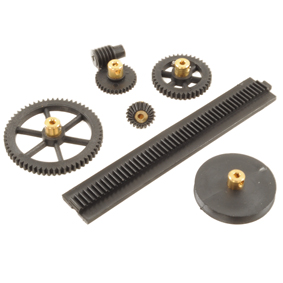 Plastic Gears & Pulleys