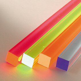 Fluorescent Square Rods