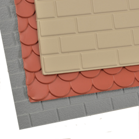 1/12th Scale Brick & Tile