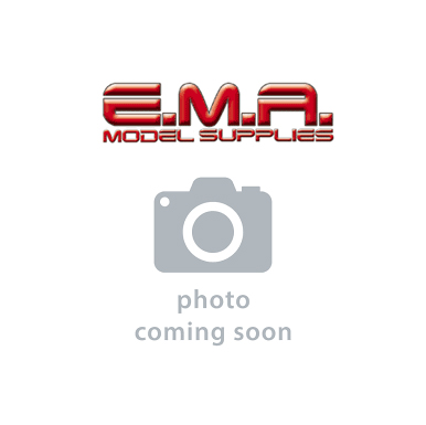 Square Rod - 9mm Fluorescent Blue