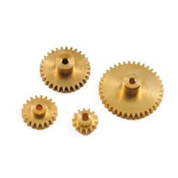 Brass Gears With Boss