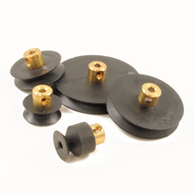 Brass Hubbed Pulleys