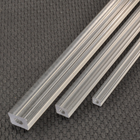 Clear Square Tubing